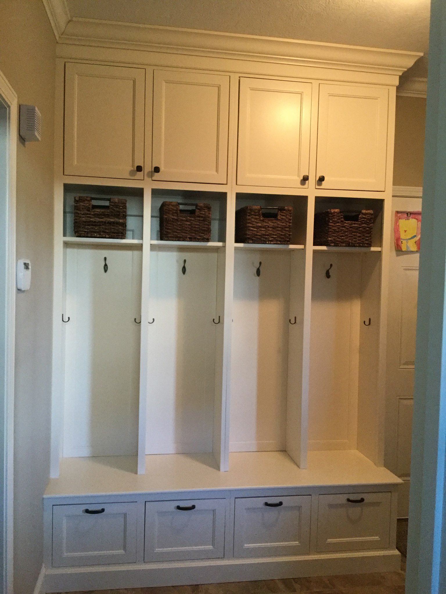 Leslie Swan Podrasky Mudroom Project
