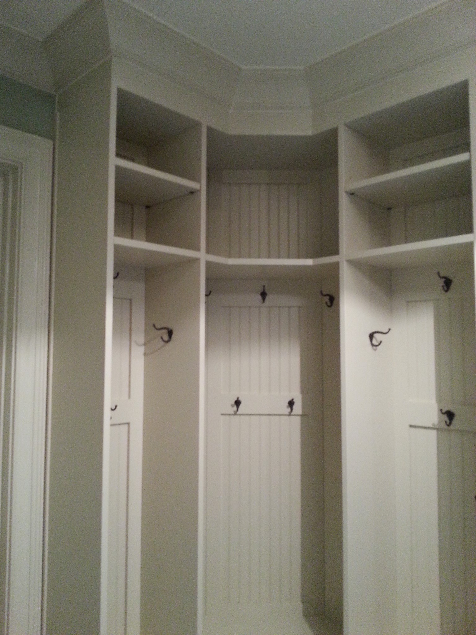 Mudroom for R.E. Sparks Construction Customer