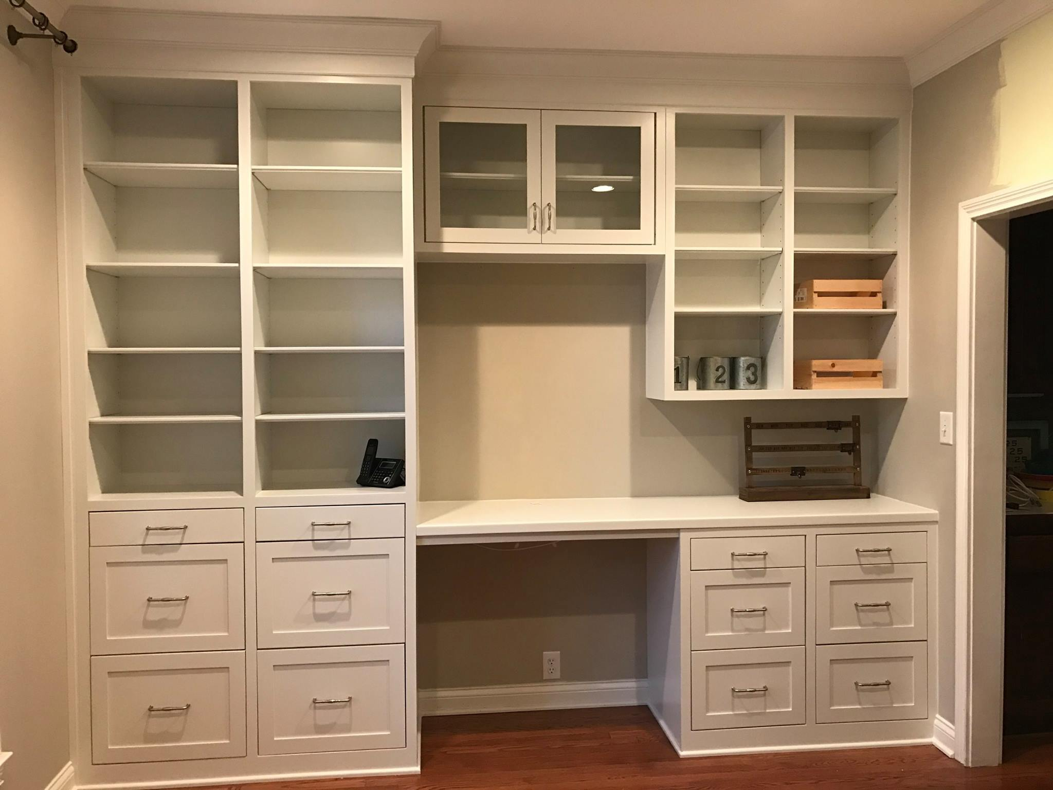 Bradley Custom Home Office Cabinets